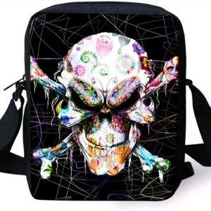 Handbags - Custom Skull Crossbody Bag Unisex Brand new